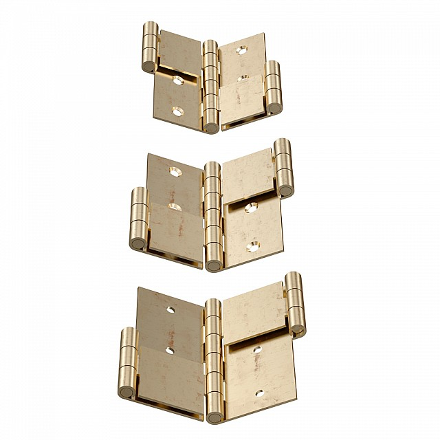 DOUBLE ACTING FOLDING SCREEN HINGES